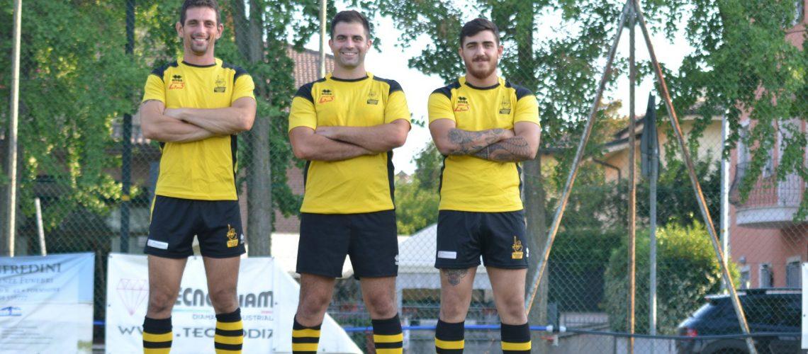 Da sinistra: Tino, Daniele Cantarelli e Gennaro Ricciardi